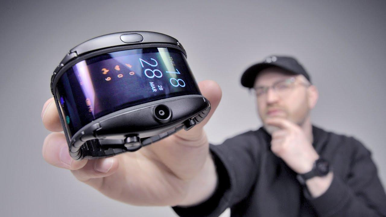 The Nubia Alpha! Modern Flexible Display Phone