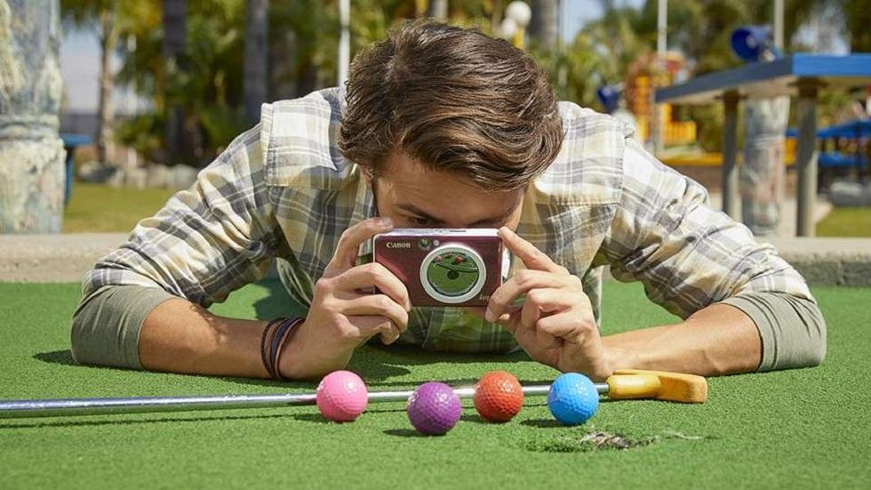 Canon CLIQ Cameras! Instant Printer