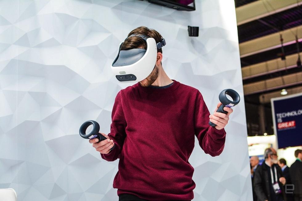 HTC's new Vive Focus Plus VR Headset