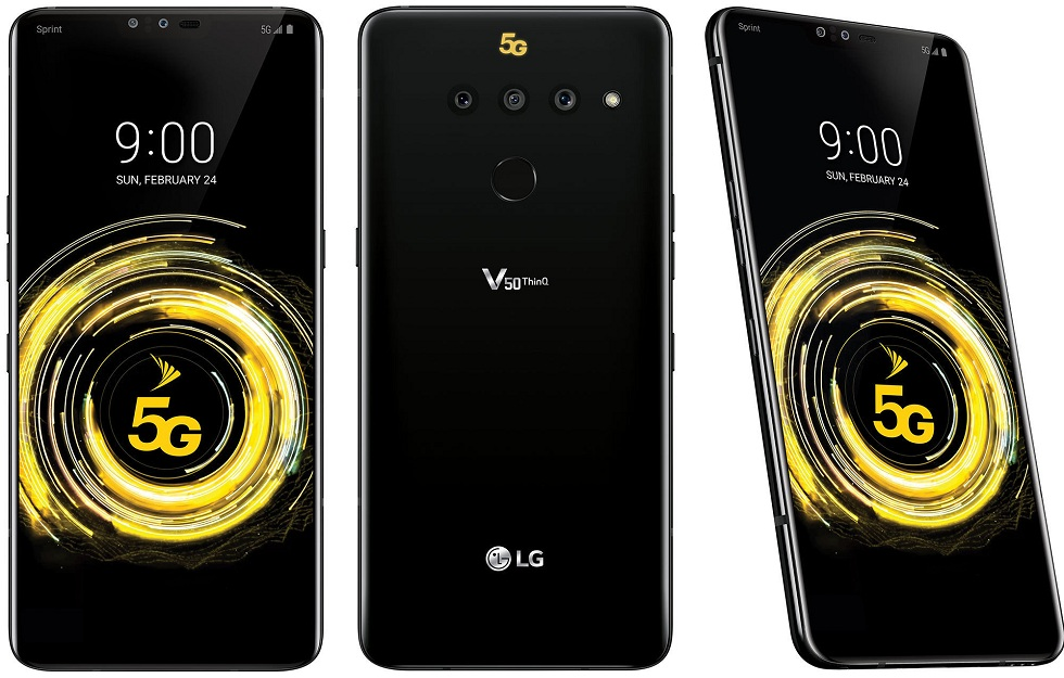 LG's Comes with first 5G phone! The V50 ThinQ