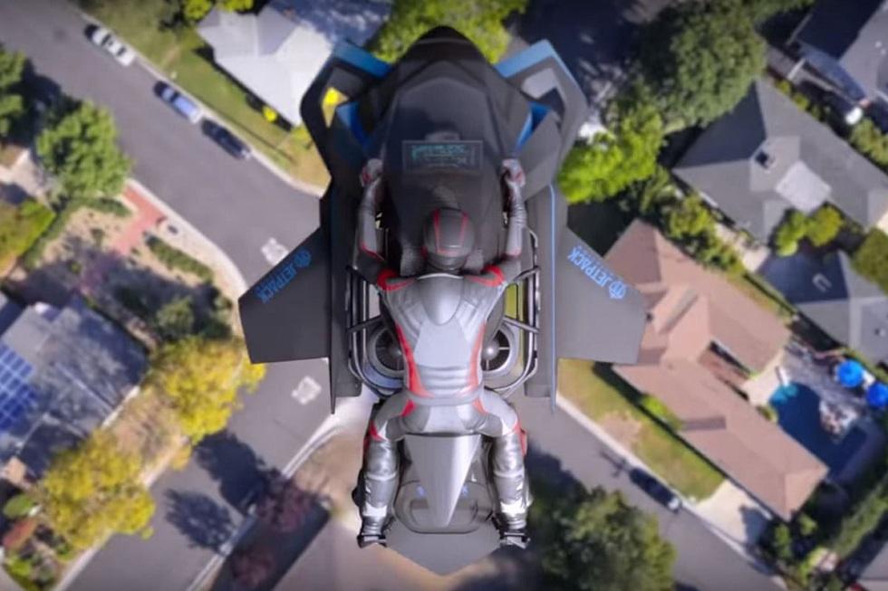 The Speeder Flying Motorcycle