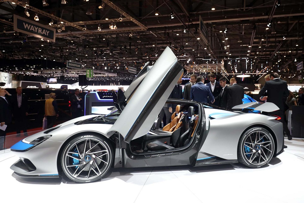 Electric Pininfarina Battista! The Electric Hyper Car