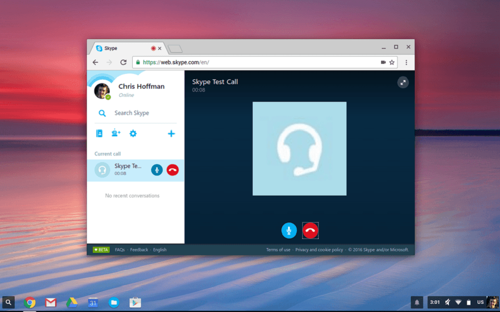 Skype new Web App! Make Video Calls