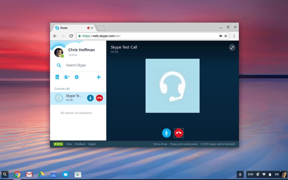 Skype new Web App! Make Video Calls
