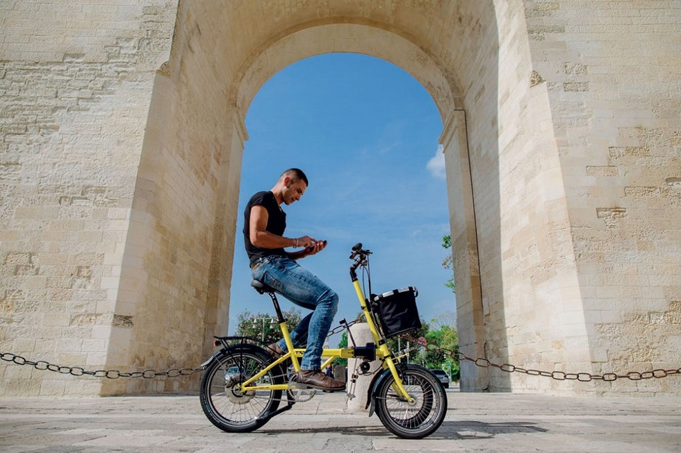 Three wheel with Electric Assist! The Tris Bike