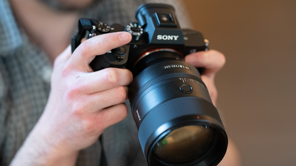 Sony's new 135mm f/1.8 GM lens! The G Master