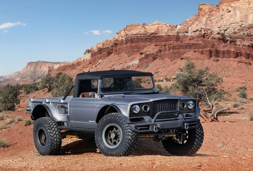 Jeep Five-Quarter! A Modified version