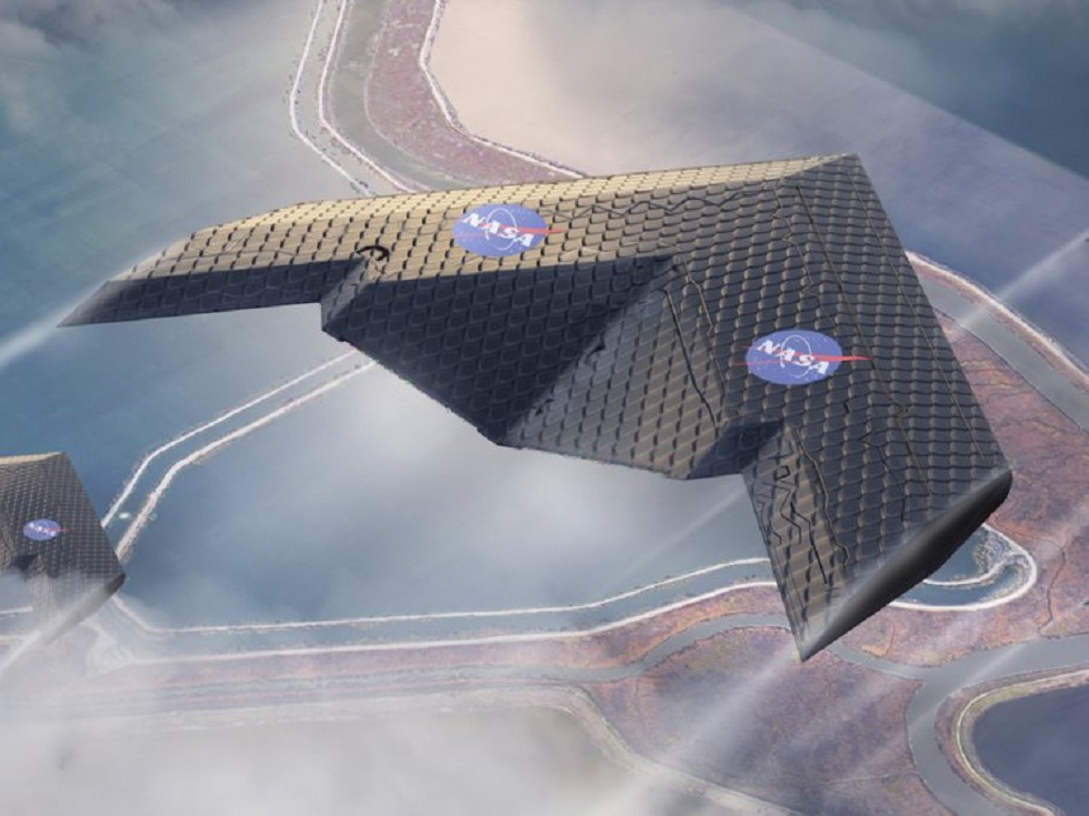NASA and MIT Morphing Airplane Wings
