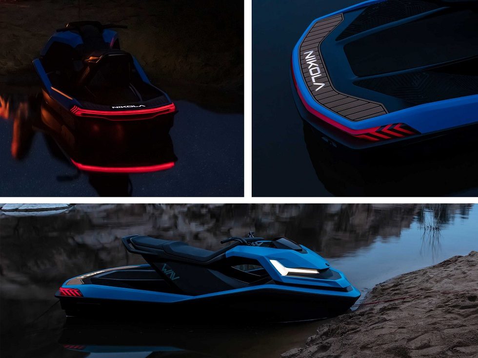 The Nikola Wav! The Electric Watercraft