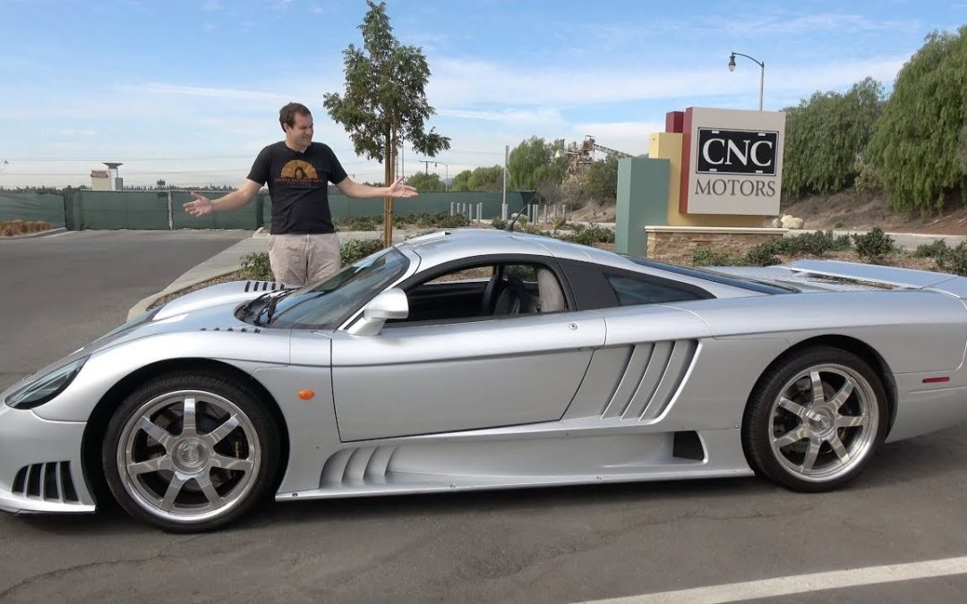 Craziest Supercar Saleen S7! Unnoticed