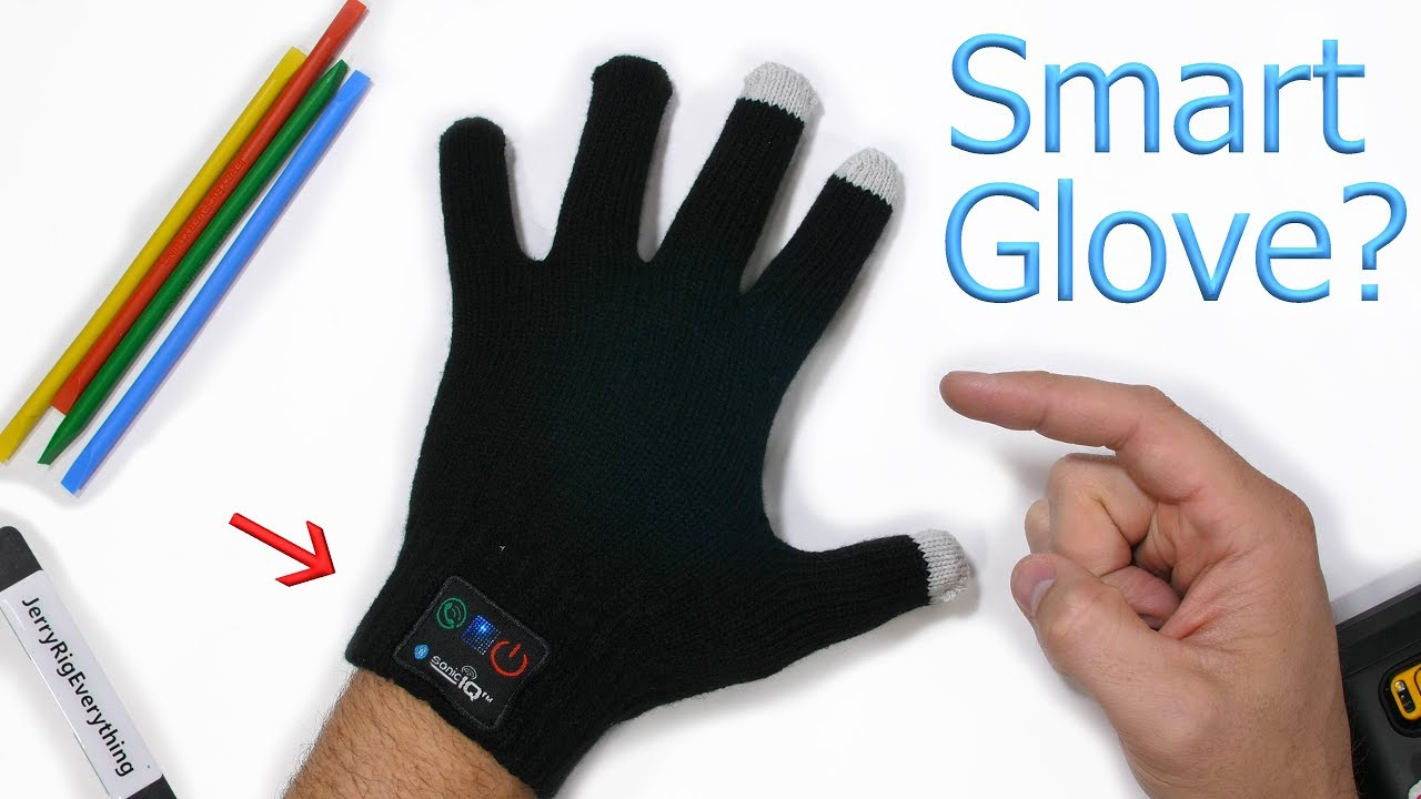 Bluetooth Gloves with Built In Mic and Speaker