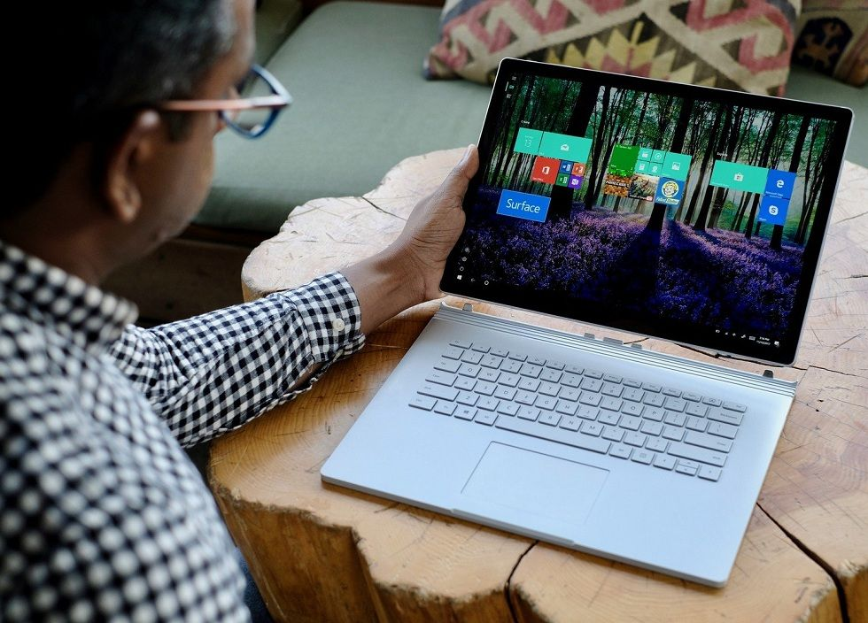 The New Microsoft Surface Book 2 with powerful processor