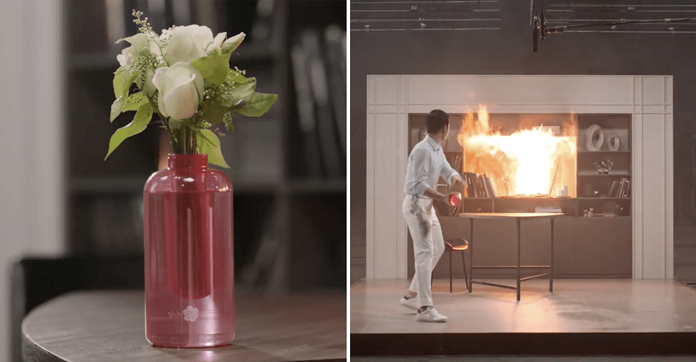 Samsung Firevase is a Fire Extinguisher