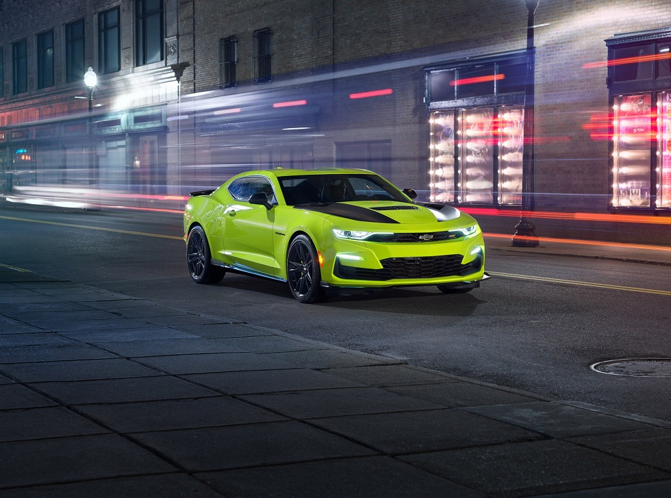 2020 Chevrolet Camaro Ss Face Lift Up Mentitude