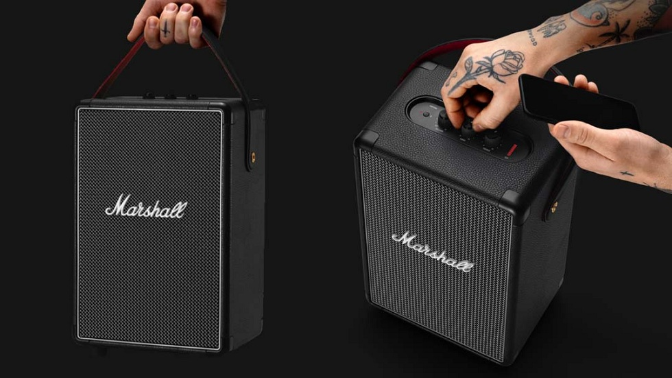 Marshall Comes up with new Speakers! Portable
