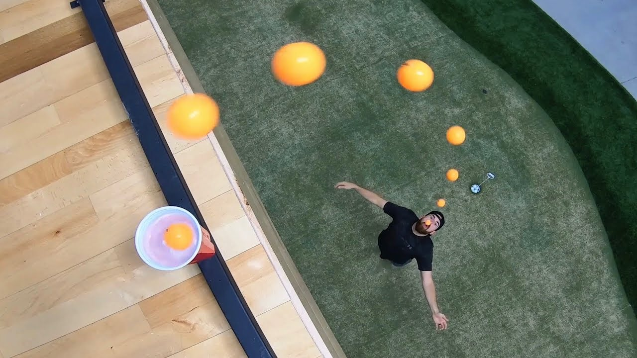Can You Do These Ping Pong Trick Shots