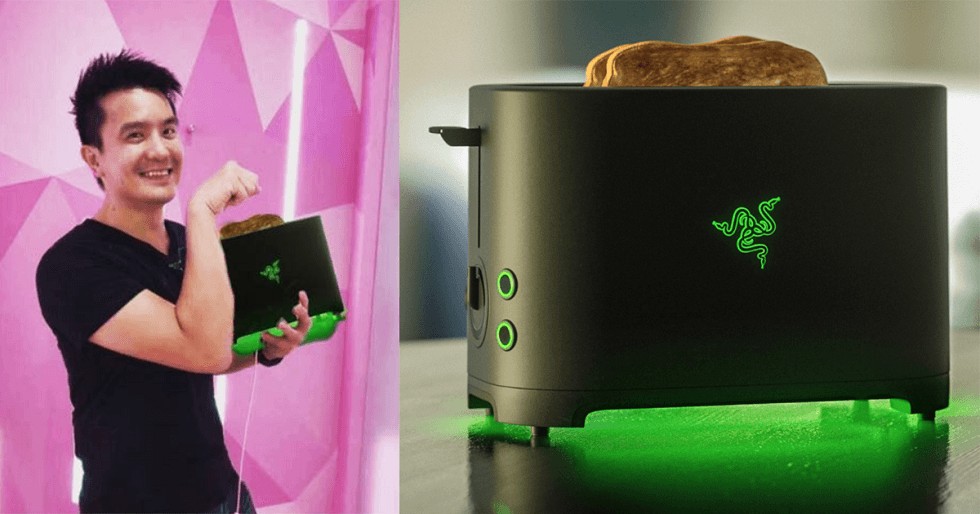 Razer's April Fools' toaster! The real deal