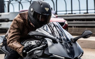 Forcite's Smart Motorcycle Helmet! With Bluetooth