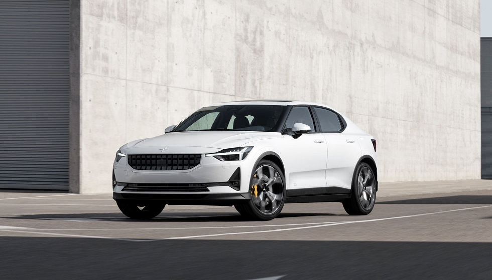 Google Android infotainment system! The Polestar 2