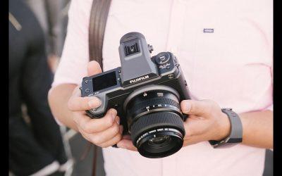 Fujifilm mirrorless GFX100 with 102-Megapixel Camera