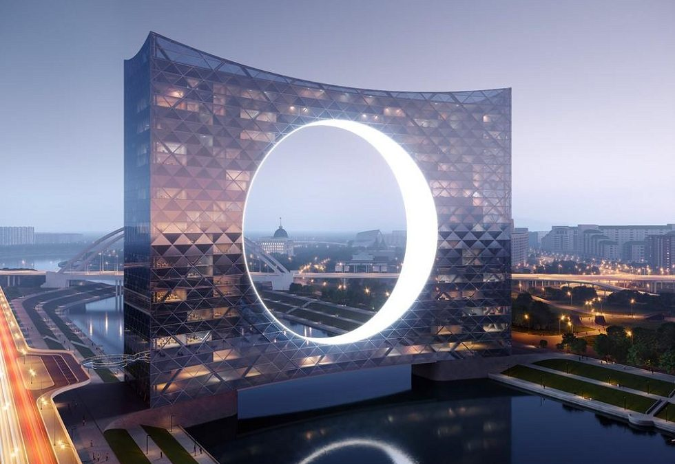 Tower of the Sun! Amazing Building Concept