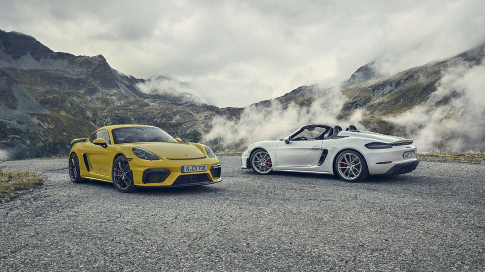 2020 Porsche 718 Cayman GT4 and 718 Spyder flaunt!