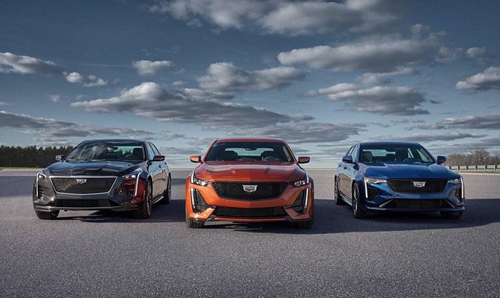 2020 Cadillac CT4-V and CT5-V pair sports sedans