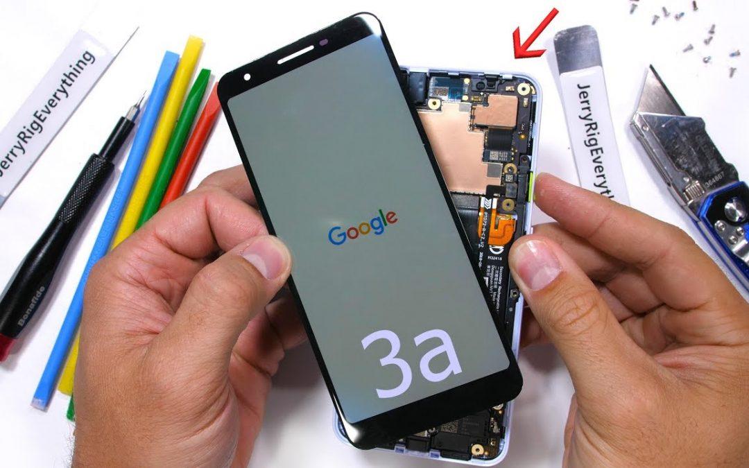 What's Inside Google Pixel 3a