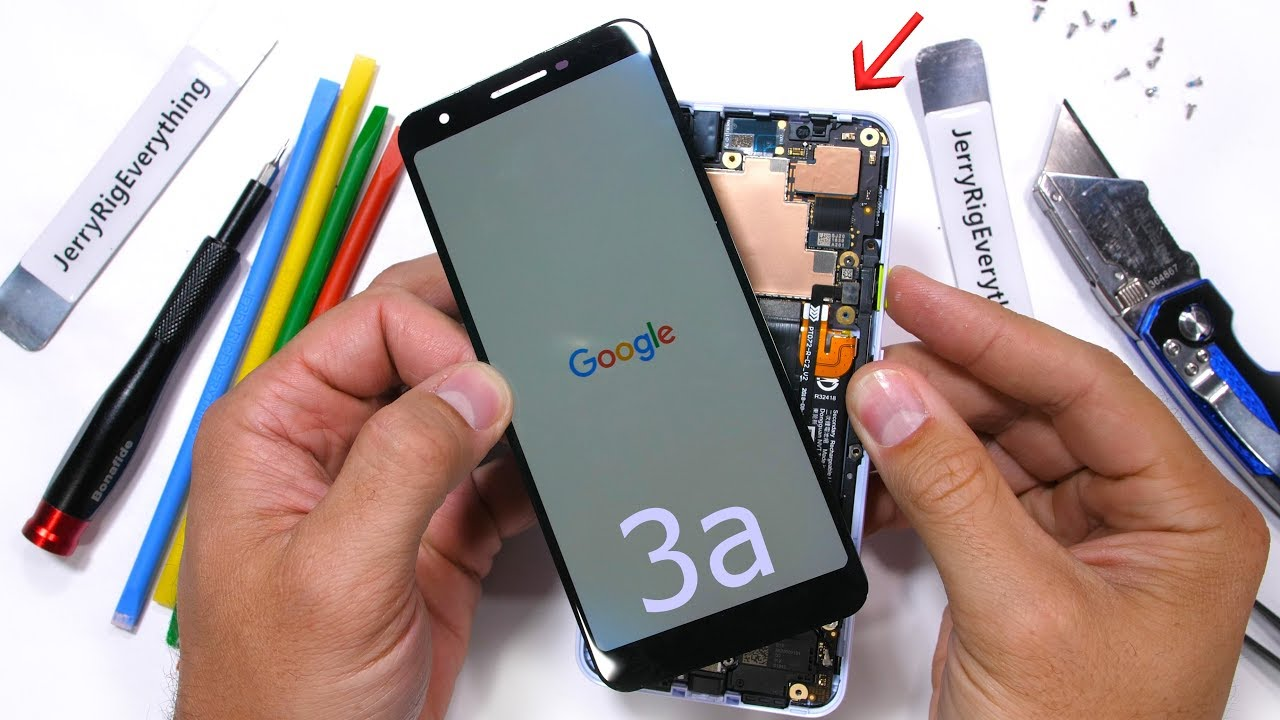 What's Inside Google Pixel 3a