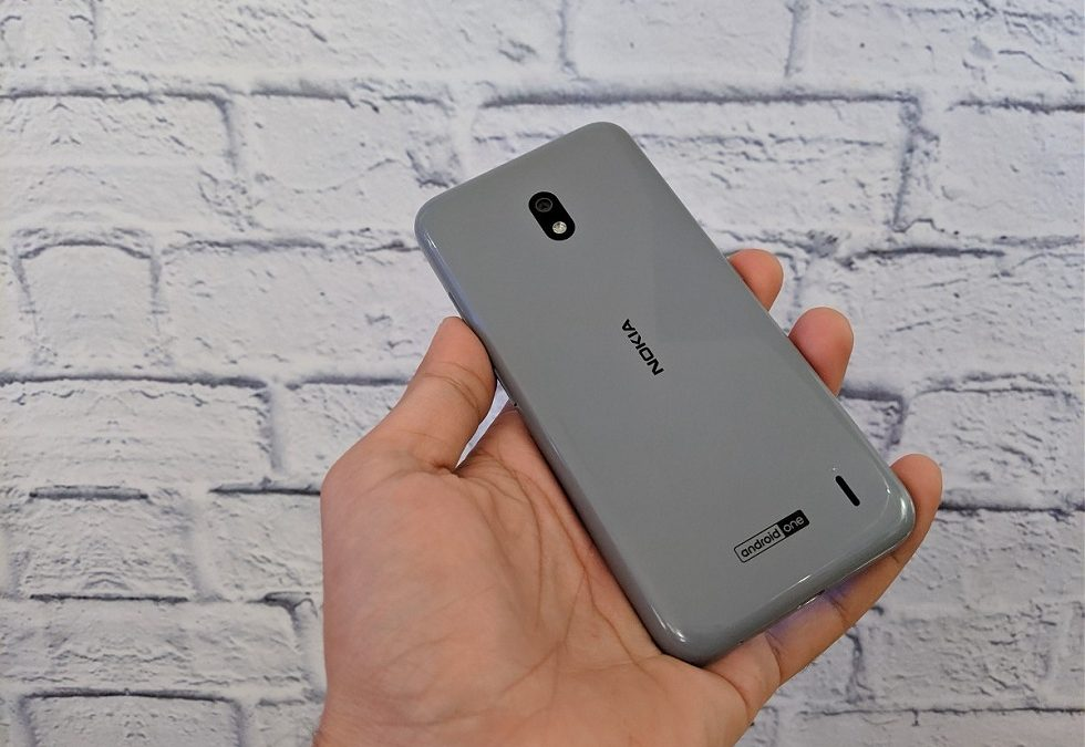 Nokia 2.2 budget phone with Google Assistant button
