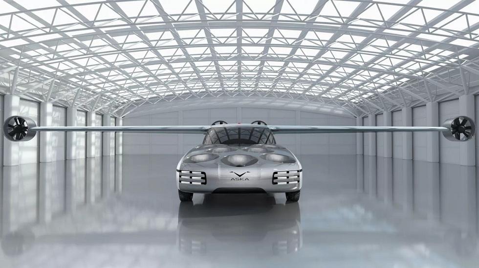 Aska flying car concept! The Future