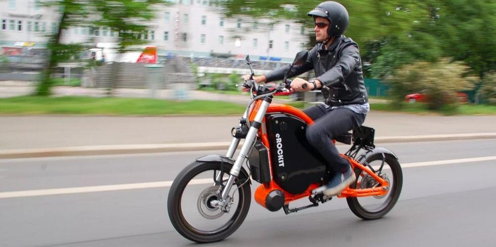 eRockit Pedal e-Moto! Style and Innovation