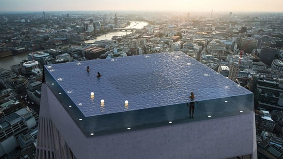 55-Story World's First 360-Degree Infinity Pool