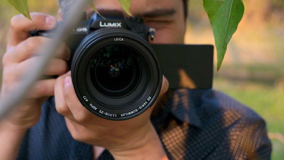 Panasonic's Lumix S1H with 6K video Shoot
