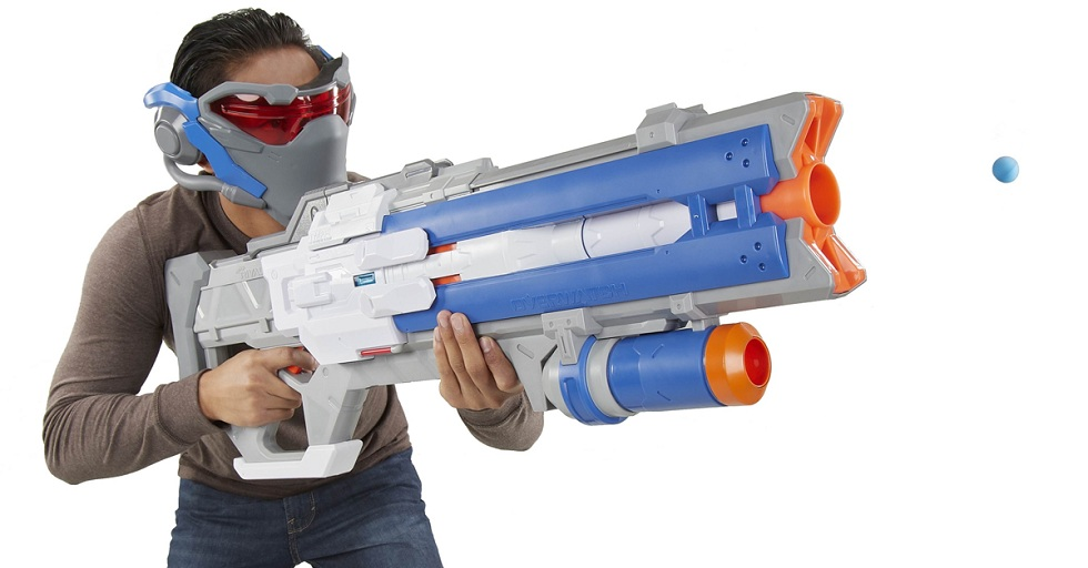 NERF Soldier 76 Blaster! Ultimate Gaming Gun