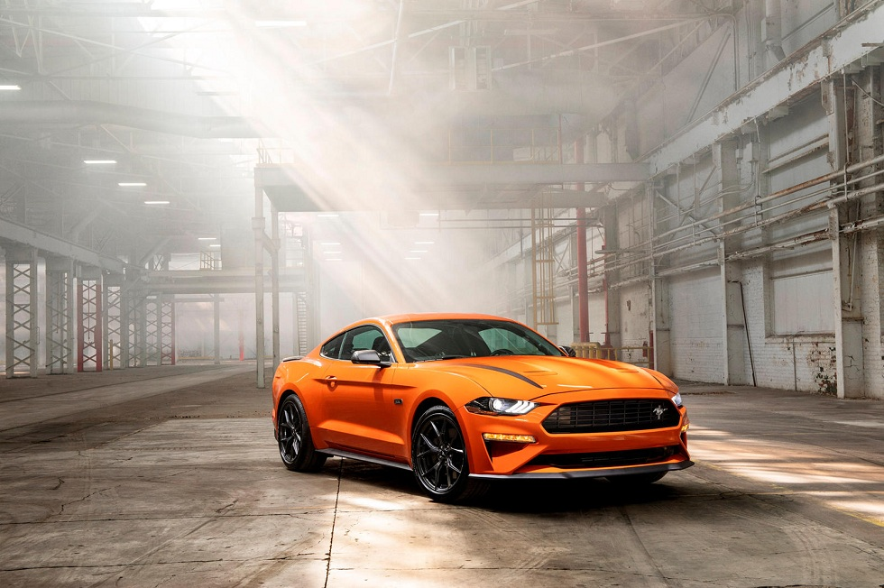 Ford Europe Launches Mustang55! Anniversary Car
