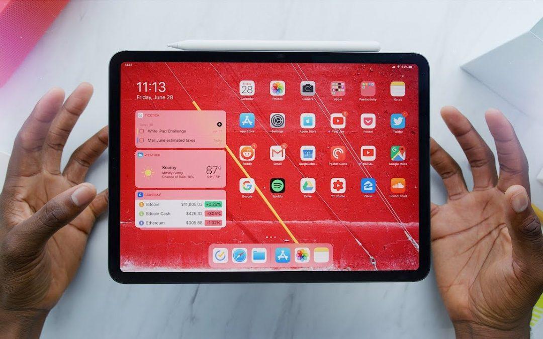 The change in New Apple iPad Pro