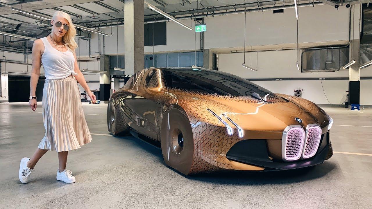 BMW Vision Next 100 Concept! The Alive Car