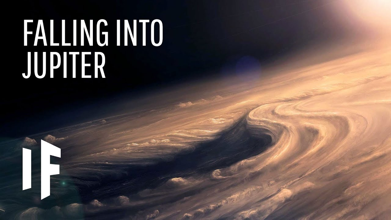 Falling into Jupiter! What it would be like?