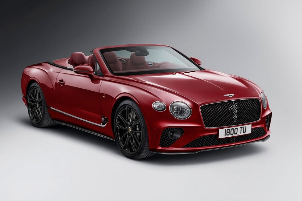 Bentley GT Convertible No. 1 Edition! The Revelation