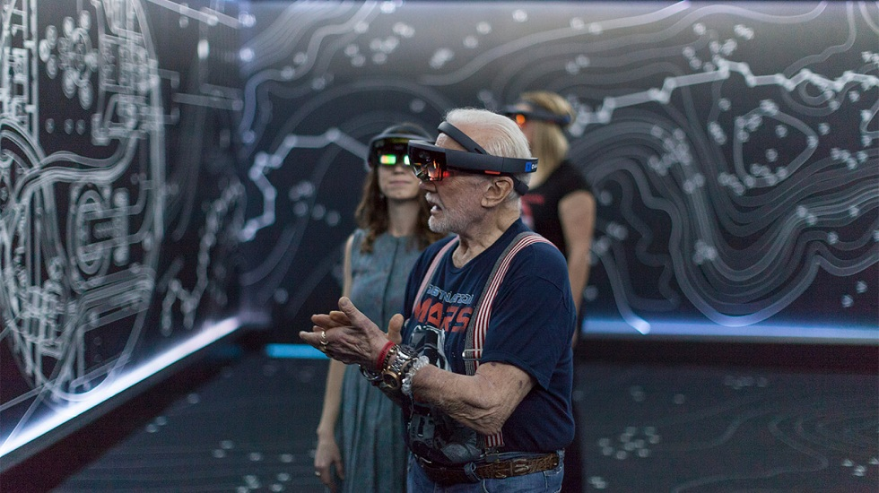 Microsoft AR HoloLens! Helping Advance Science of Spaceflight