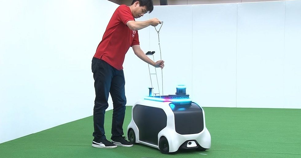 Toyota's 2020 Olympics Robots! Field Support Robots
