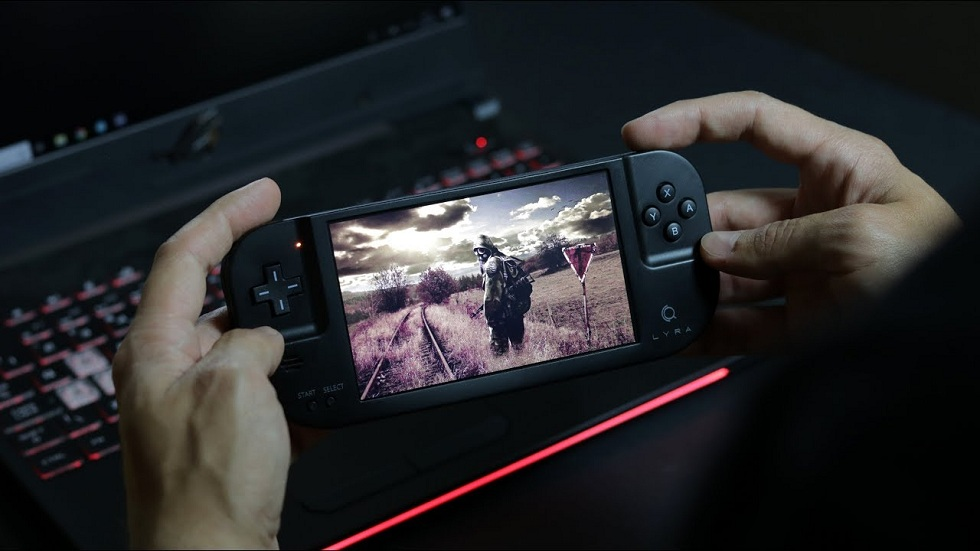 Lyra's 5-inch Handheld Gaming Console! All in One