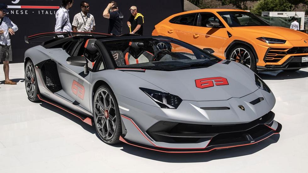 Lamborghini Aventador SVJ 63 Roadster Sports Car!