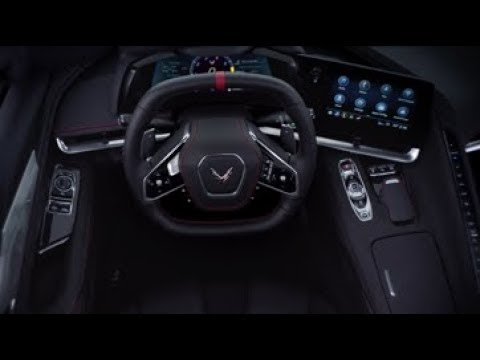 The 2020 Corvette C8! The Driver Cabin
