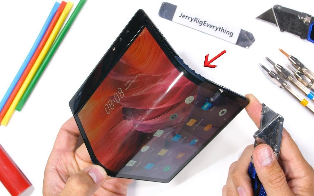 Royole Flexpie! First Folding Phone