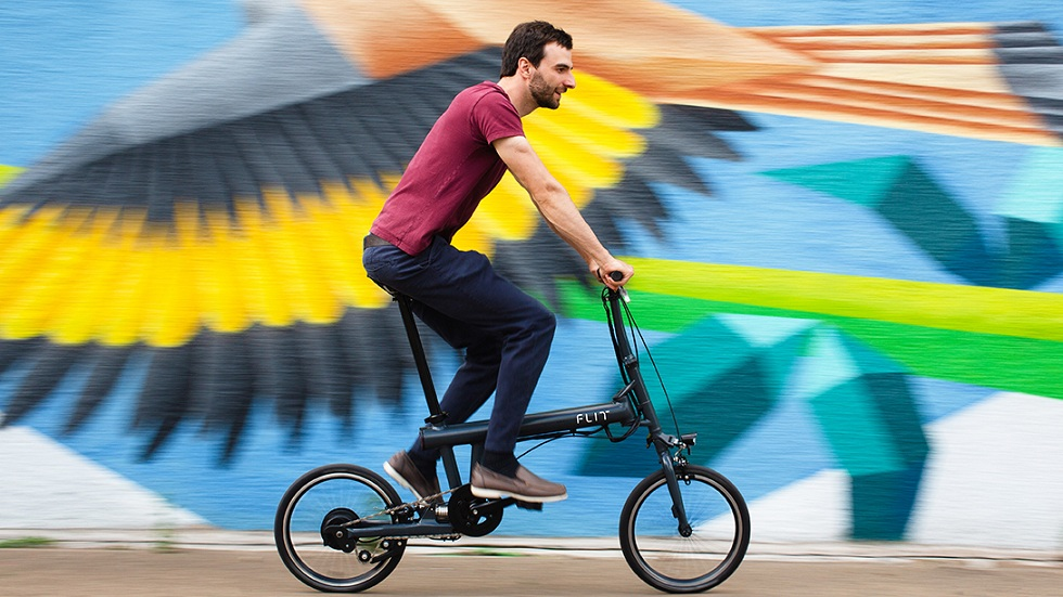 Flit-16 Folding e-Bike! The Smart Choice