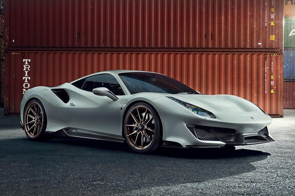 Novitec Refines Ferrari's 488 Pista! Ride with Thrill