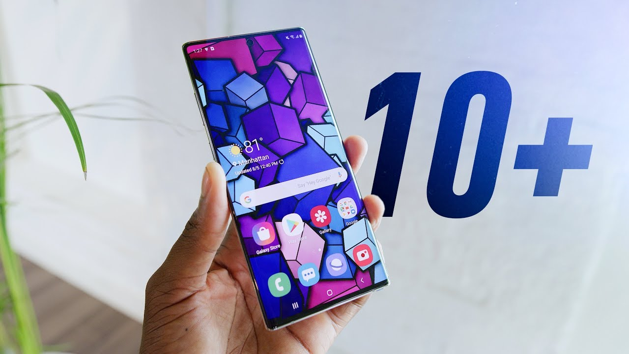Samsung Galaxy Note 10 and 10 Plus! Expert Says
