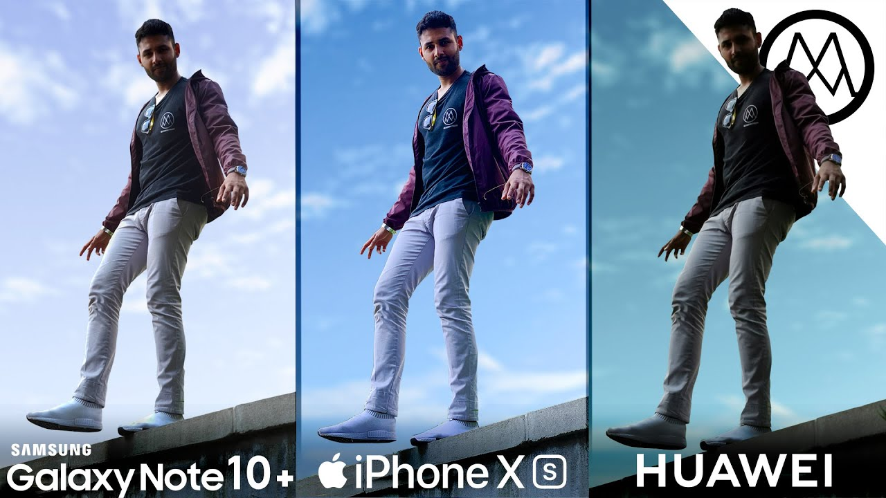 Camera Test of Samsung Note 10 Plus, iPhone XS Max and Huawei P30 Pro